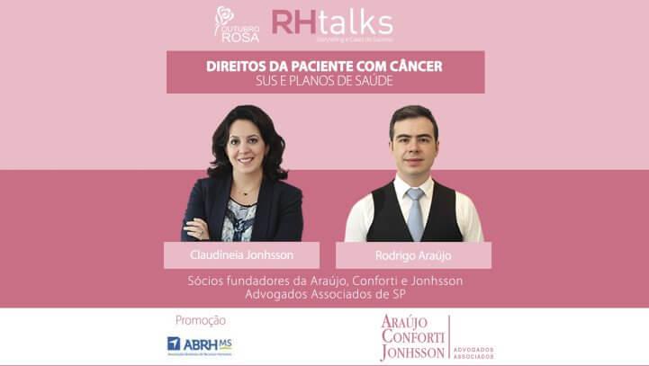 Palestra – Direitos do Paciente com Câncer – SUS e Planos de Saúde